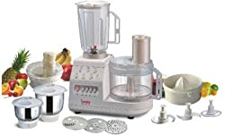 Lumix Regular Dx. 600 watt 3 Jar Food Processor for Kitchen