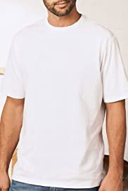 Pure Cotton Plain Crew Neck T-Shirt [T28-3300B-S]