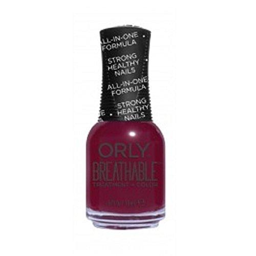 Orly traspirante Nail Lacquer-Trattamento + Colore-L' Antidoto-17G/18Ml