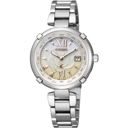 [シチズン]CITIZEN 腕時計 xC クロスシー TITANIA LINE HAPPY FLIGHT Eco-Drive エコ・ドライブ 電波時計 EC1060-59W レディース