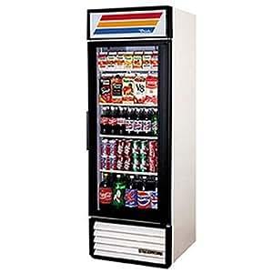 True Mfg GDM-26, 1 Door, Glass Swing Door Refrigerator