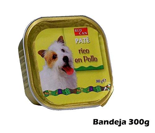 Vassoio pâté ricco pollo 300 g di alimenti per cani