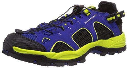 Salomon - Techamphibian 3, Scarpe Da Nordic Walking da uomo, blu (g blue/black/gecko green), 42