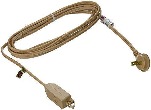 slimline 2240 flat plug extension cord 2 wire beige 13 foot. Black Bedroom Furniture Sets. Home Design Ideas