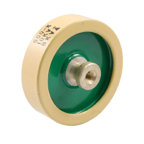 500Pf 10Kv 8K Watt Ceramic Door Knob Hv High Voltage Capacitor