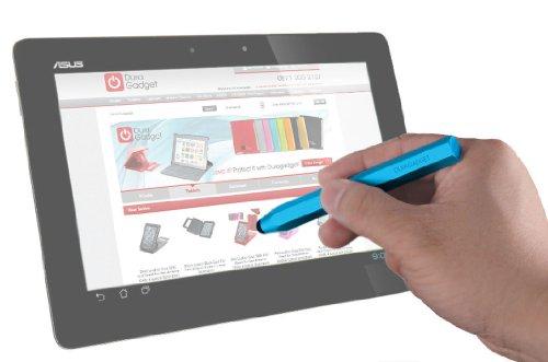 DURAGADGET 新 ASUS Fonepad ME371-GY08 グレー Android 4.1.2 インテル Atom プロセッサー Z2420 7 inch eMMC8GB メインメモリ1GB モバイル通信対応 SIM フリー ME371-GY08用専用 タッチスクリーン 容量式タッチペン ブルー