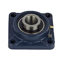 1 Piece- UCF204-12, 3/4 inch 4 Bolts Pillow Block Flange Bearing,Self-Alignment, Brand New!