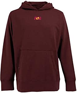 Arizona State Signature Hooded Sweatshirt (Team Color) by Antigua