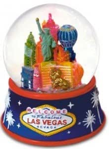 Amazon Com Las Vegas Snow Globe Cityscape Las Vegas