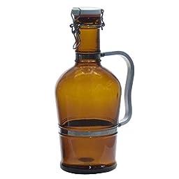 2 Liter Growler with Metal Handle