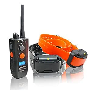 Dog Training Collars - Super-X 2 Dog 1 Mile Remote Trainer