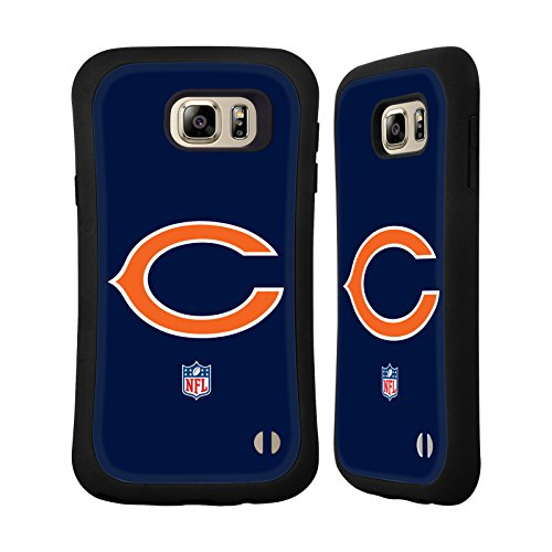 Official NFL Plain Chicago Bears Logo Hybrid Case for Samsung Galaxy Note5 / Note 5 (Chicago Bears Tablet Case compare prices)
