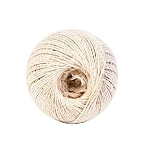 Koch 5430605 370-Feet Cotton Twisted Butcher's Twine, White