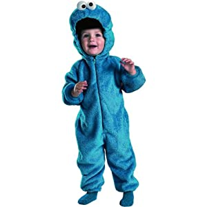 Child (4-6) Cookie Monster Deluxe Costume