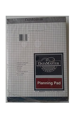datacom-88700-datamaster-classics-planning-pad-quadrille-8-1-2-x-11-sold-by-the-inidividual-pad