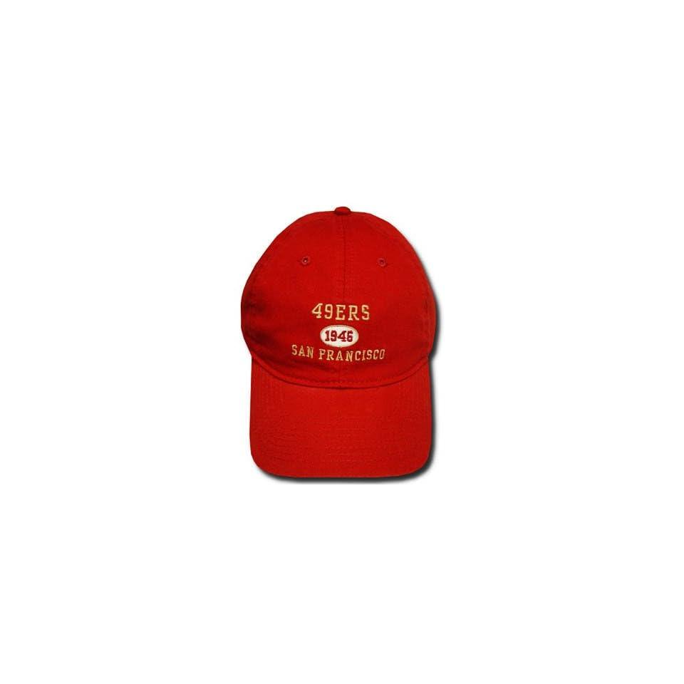 NFL SAN FRANCISCO 49ERS MAROON REEBOK CAP HAT ADJ NEW