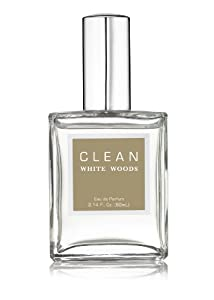 Clean White Woods Fragrance Eau de Parfum Spray, 2.14 Fluid Ounce