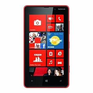 Nokia Lumia 820 Smartphone Windows Phone 8 Monobloc Rouge