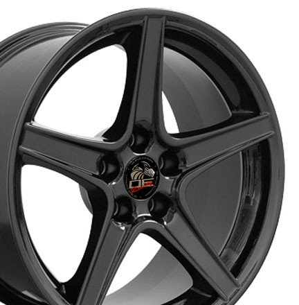 Wheel1x - Saleen Style Replica Wheel Fits Mustang