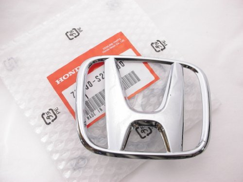 98-00 Genuine Honda Accord 4 Door Sedan Front Chrome H Emblem (Honda Accord Grille Emblem compare prices)