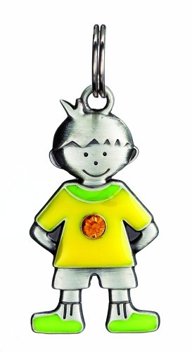 Birthstone Kid's Tag - Boy - November