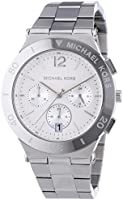 Michael Kors Wyatt Silver-Tone Stainless Steel Chronograph Women's watch #MK5932