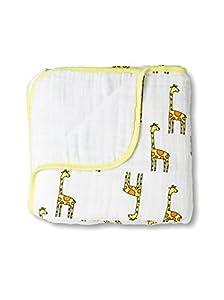 aden + anais Muslin Dream Blanket, Jungle Jam, Giraffe