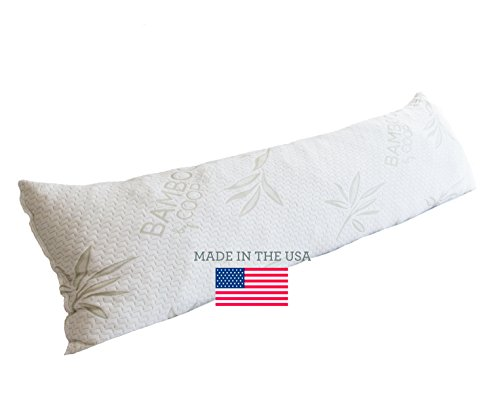 Cheapest Prices! The Original Shredded Memory Foam Body Pillow with Bamboo Cover By Coop Home Goods ...