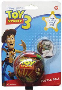 Toy Story 3 Puzzle Ball - Open to Reveal Hidden Ball