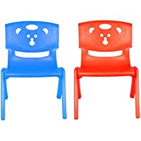 Sunbaby SB-CH-05-br Magic Bear Chair (Set of 2 Pieces) (Blue/Red)
