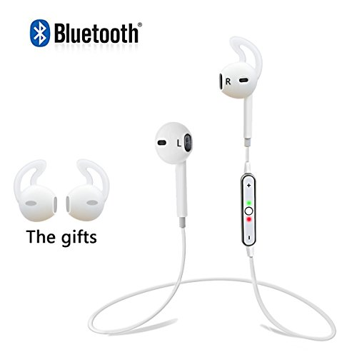 PLAY X STORE Wireless Bluetooth Headphone Sweatproof Sports Earhook Earbuds
