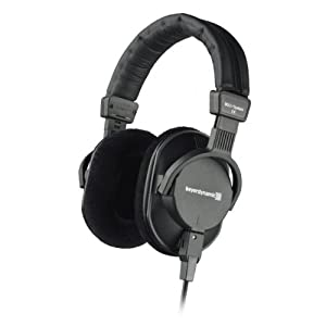 Beyerdynamic DT-250-80OHM Lightweight Closed Dynamic Headphone for Broadcast and Recording Applications, 80 Ohms