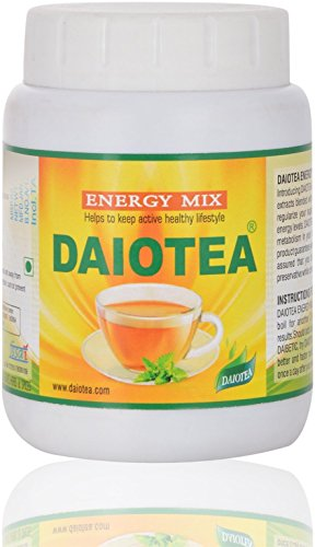 Daiotea - Herbal Tea For Diabetes (100 Servings + Protein), Benefits Of Green Tea Powder (Sugar Free)