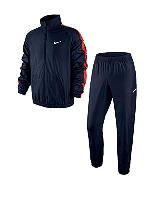 Nike Chándal Season Woven Track Suit (Azul / Rojo)