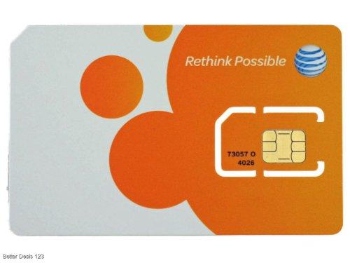 ATT 3G プリペイド SIMカード オレンジ SKU 73057