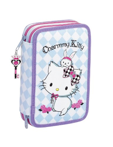 nube charmmy kitty trousse scolaire fourniture hello kitty crayon cas tui crayons remplis. Black Bedroom Furniture Sets. Home Design Ideas