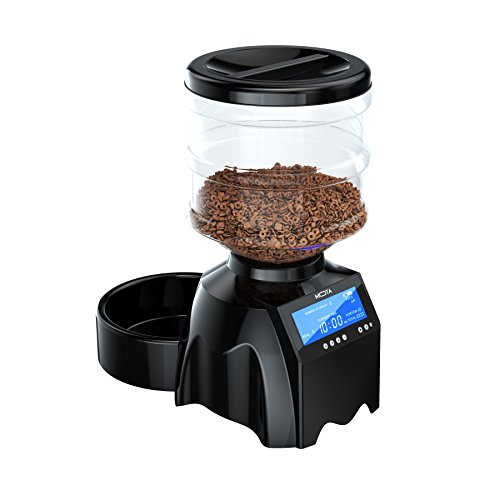 TAMO Perfect Dinner Fully Programmable Automatic Pet Food Dispenser V2 with Voice Recall and Scheduled Portion Control