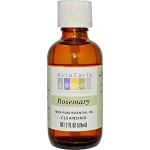 Aura Cacia Rosemary, Essential Oil, 16 oz. bottle