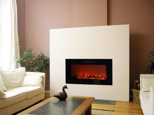 Sideline Electric Fireplace - Black photo B00H3RI32U.jpg