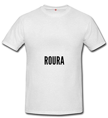 Tshirt Roura city White Picture