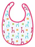JJ Cole Soft Bib (Bright Giraffes)