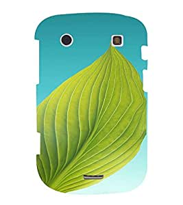 PrintVisa Leaf Design 3D Hard Polycarbonate Designer Back Case Cover for Blackberry 9900