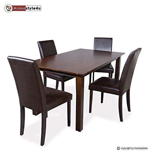 Esstisch Essgruppe 4 Stühle Dining