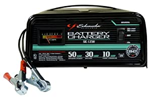 Schumacher SE-1250 Manual Operation 10 and 30 Amp Charger with 50 Amp Emergency Engine Start