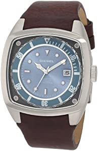 Diesel Men's DZ1491 Not So Basic Basics Brown Watch
