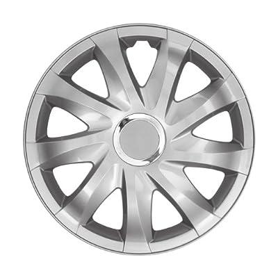 """Radkappen Radblenden DRIFT silber 14"""" 14 Zoll für Opel Astra, Vectra, Corsa, von NRM bei Reifen Onlineshop"""