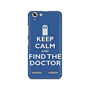 Mobicture Find the Doctor Premium Printed Case For Lenovo K5 Plus