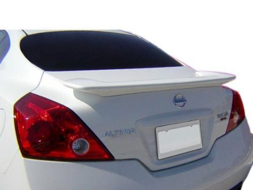 08-10 Nissan Altima 2dr Spoiler (Infiniti Style - No LED Brake) - Painted or Primed : KH3 SUPER BLACK (No Drill Spoiler compare prices)