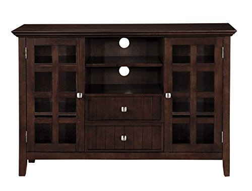 Simpli Home Acadian Tall TV Stand, 53