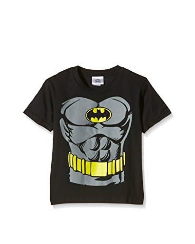 DC Comics T-Shirt Manica Corta Batman Torso [Nero]